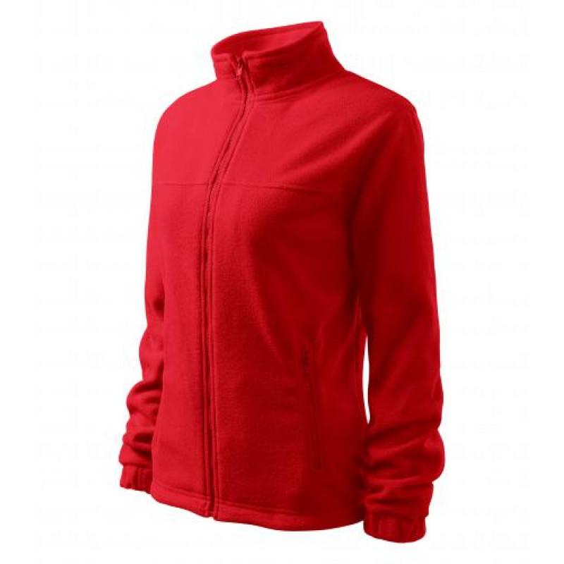 Dámska Fleece Mikina 1 červená