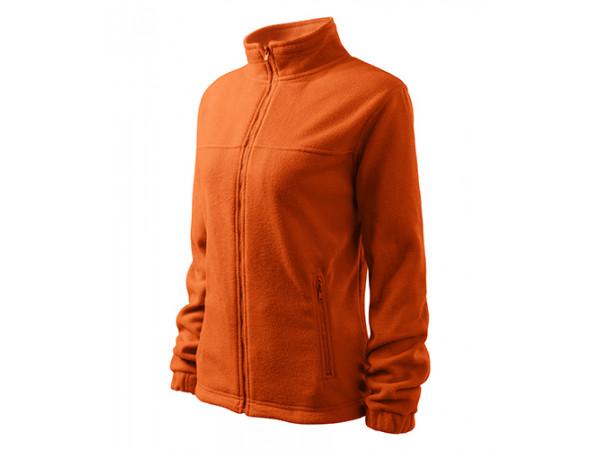 Dámska Fleece Mikina 1 oranžová