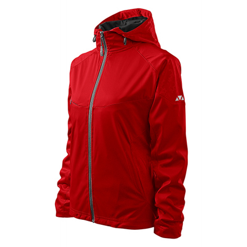 Dámska Softshellová bunda Cool červená