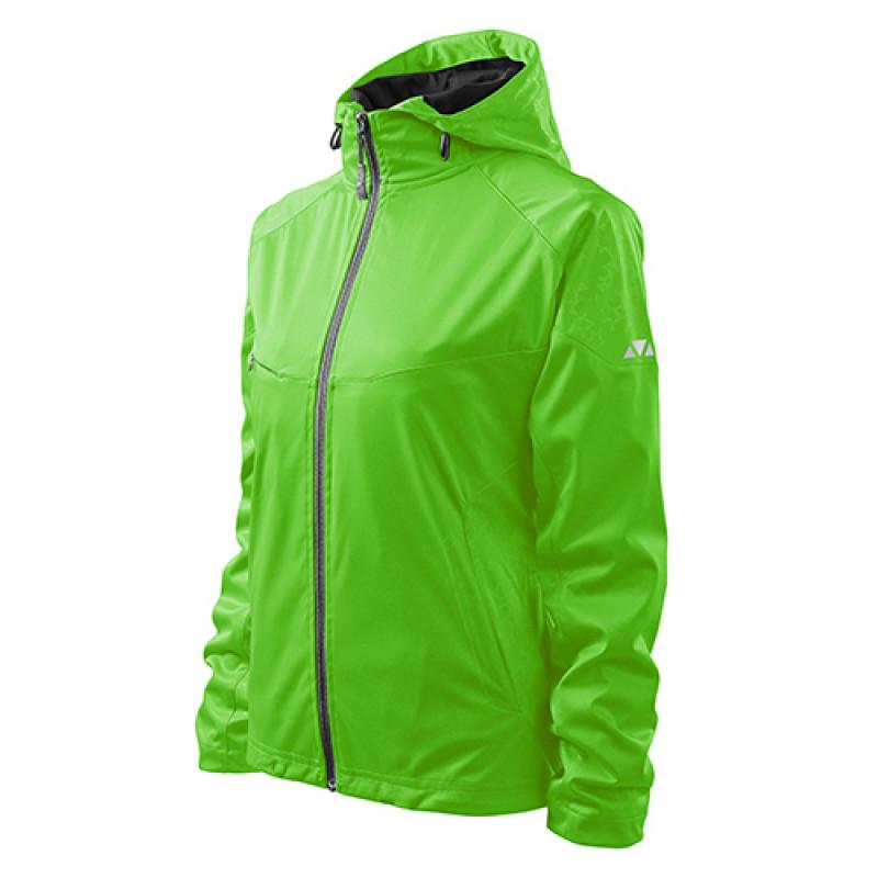 Dámska Softshellová bunda Cool zelená
