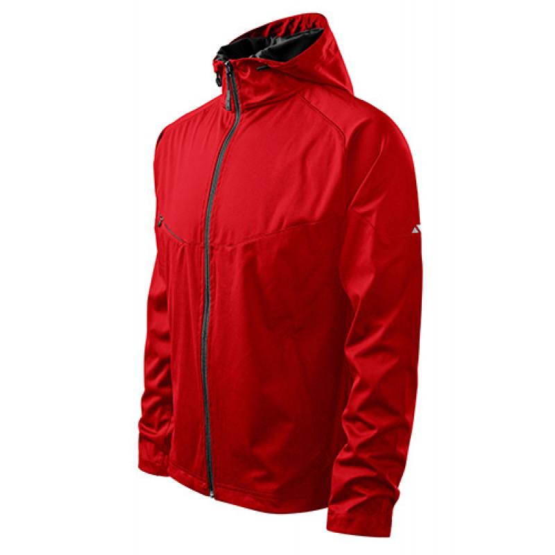 Pánska Softshellová bunda Cool červená
