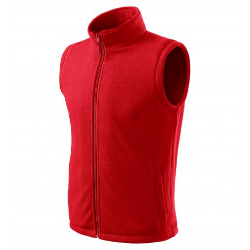 Pánska Fleece Vesta Next červená
