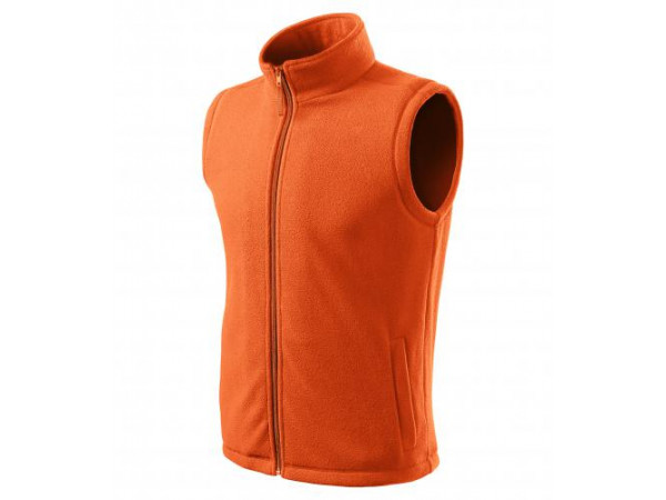 Pánska Fleece Vesta Next oranžová