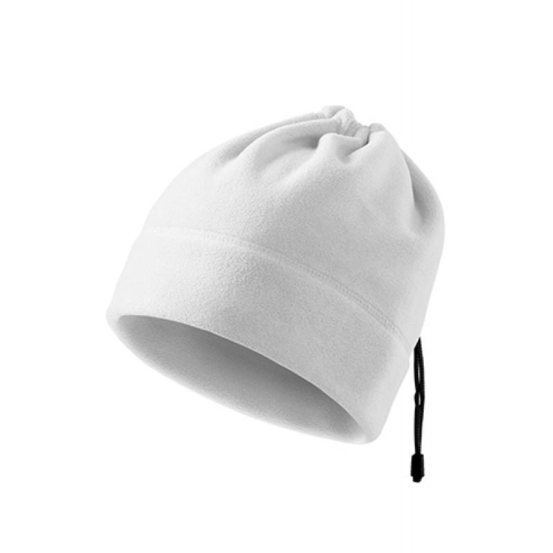 Fleece Čiapka PRACTIC biela