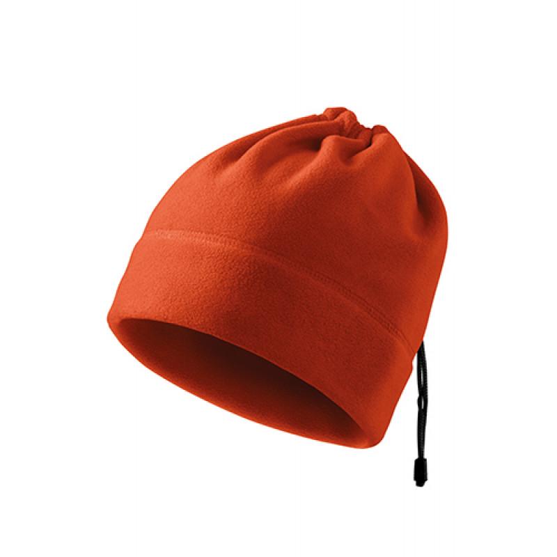 Fleece Čiapka PRACTIC oranžová