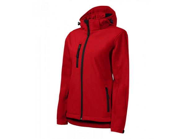 Dámska Softshellová bunda Performance červená