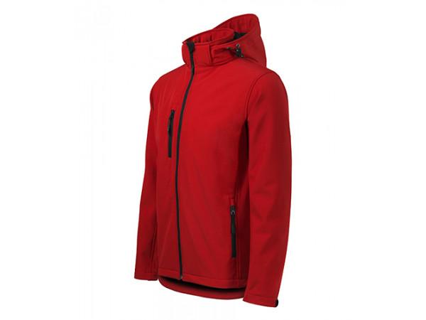 Pánska softshellová bunda  Performance červená