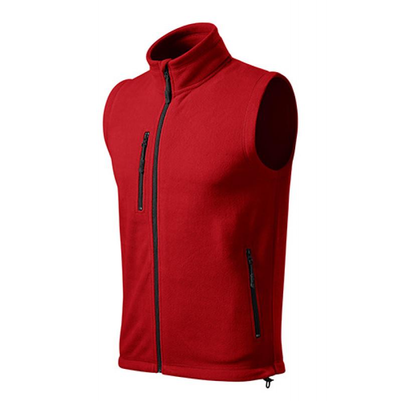 Panska Fleece Vesta EXIT červená