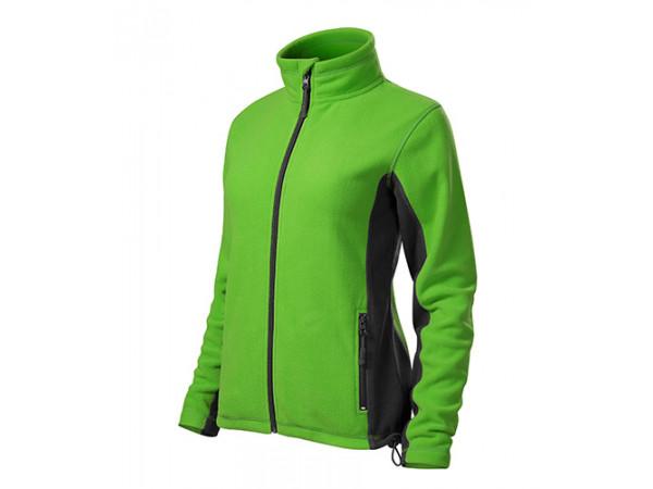 Dámska Fleece Mikina 2 zelená