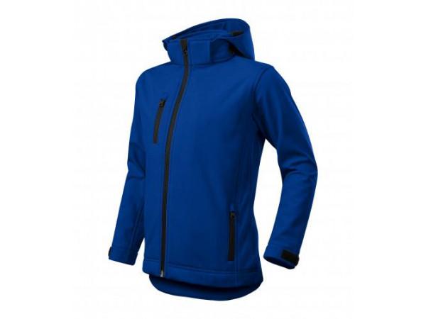 Detská Softshellová bunda Performance kráľovská modrá