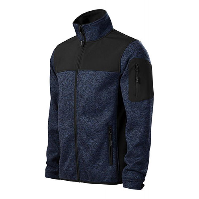 Pánska Softshellová bunda Casual modrá