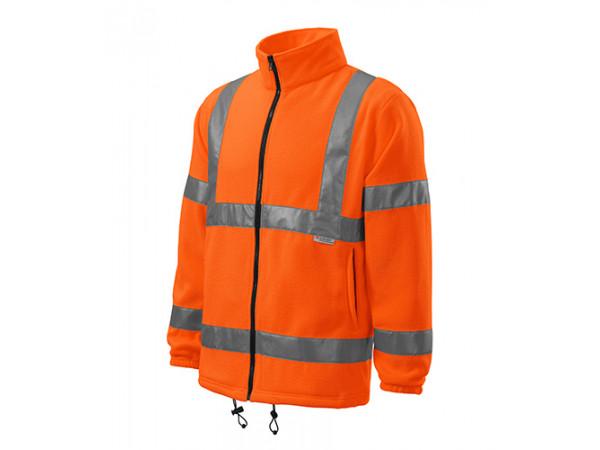 Fleece HV FLEECE JACKET oranžová
