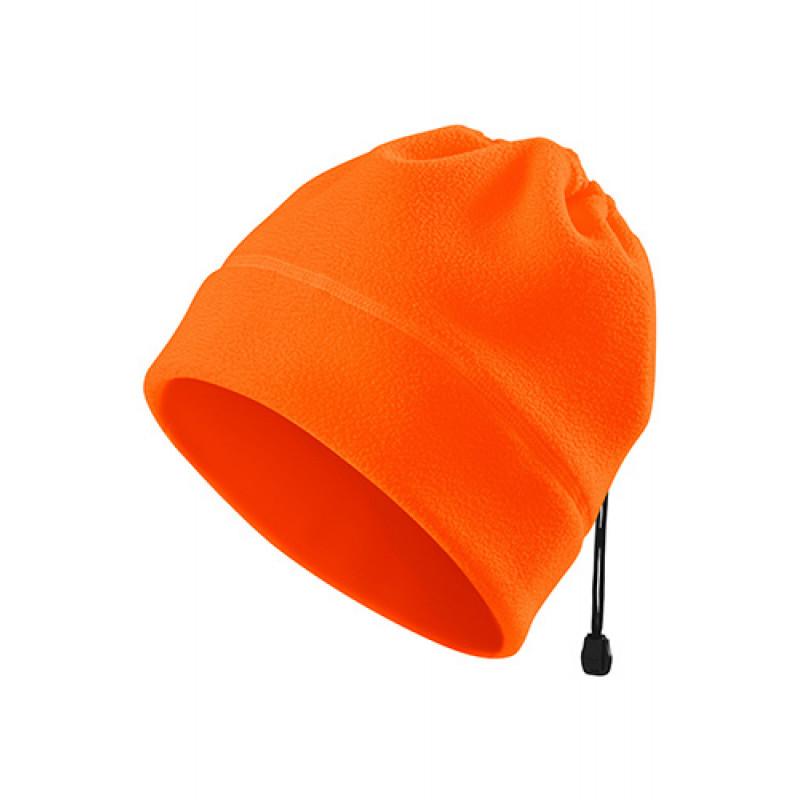 Fleece Čiapka HV PRACTIC oranžová