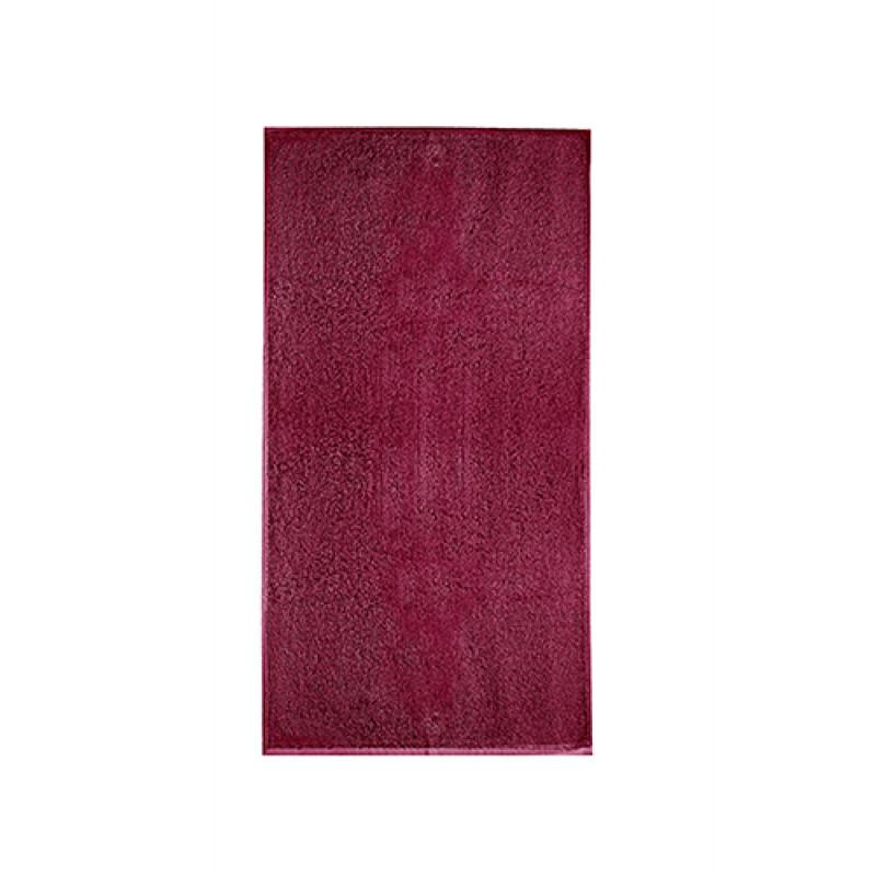 Osuška TERRY TOWEL tmavočervená