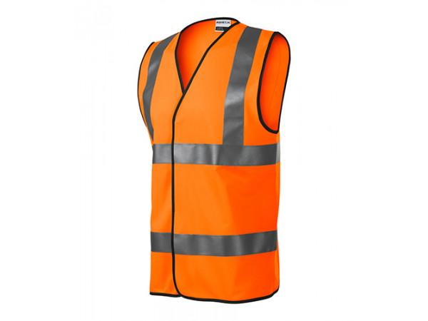 Bezpečnostná Vesta HV BRIGHT oranžová