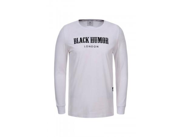 Pánske tričko sdlhým rukávom GLO-STORY biele
