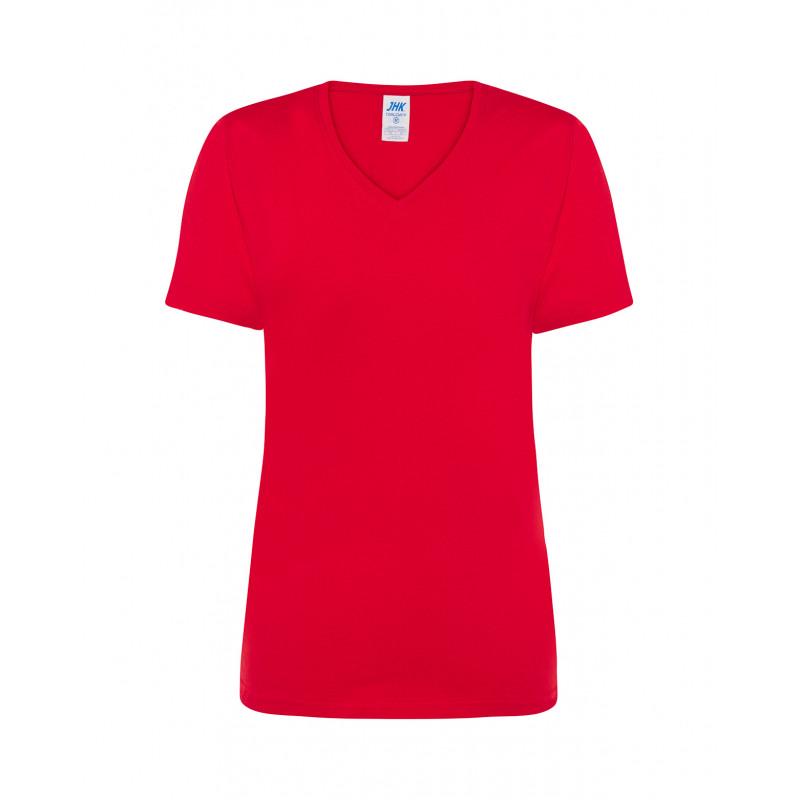 Dámske tričko s krátkym rukávom červené cmfp