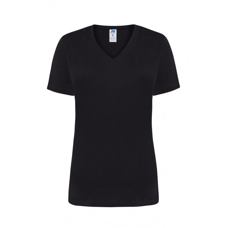 Dámske tričko s krátkym rukávom čierne