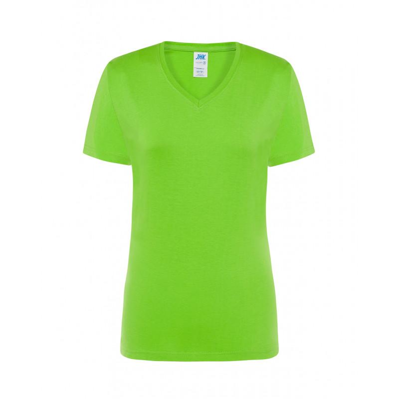 Dámske tričko s krátkym rukávom limetkové