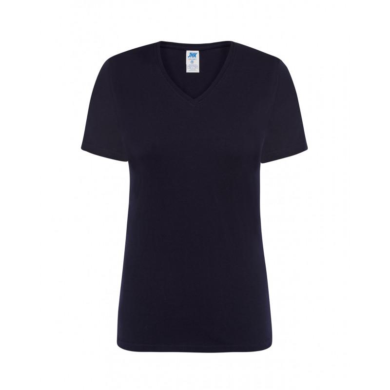 Dámske tričko s krátkym rukávom námornícka modrá