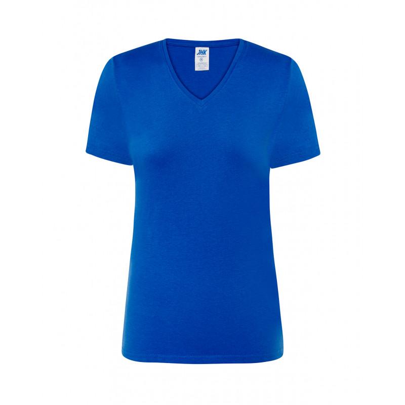 Dámske tričko s krátkym rukávom kráľovská modrá