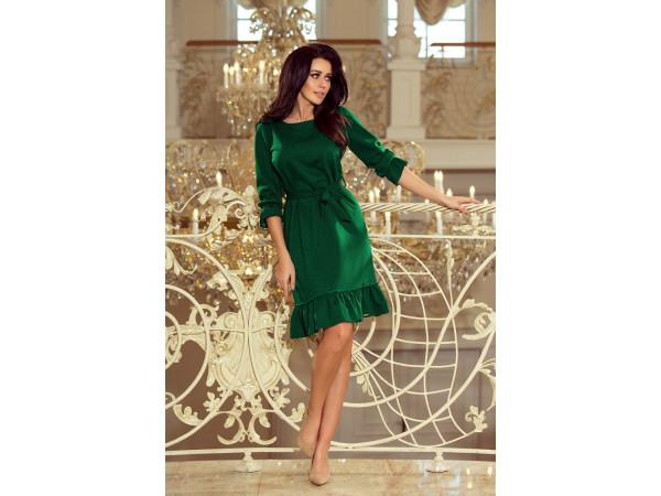 Dámske elegantné šaty smaragdové