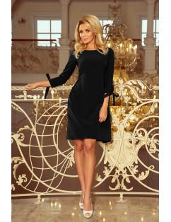 Dámske elegantné šaty čierne