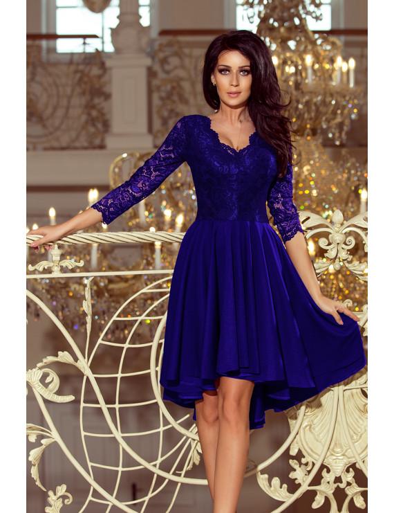 Dámske elegantné šaty modré