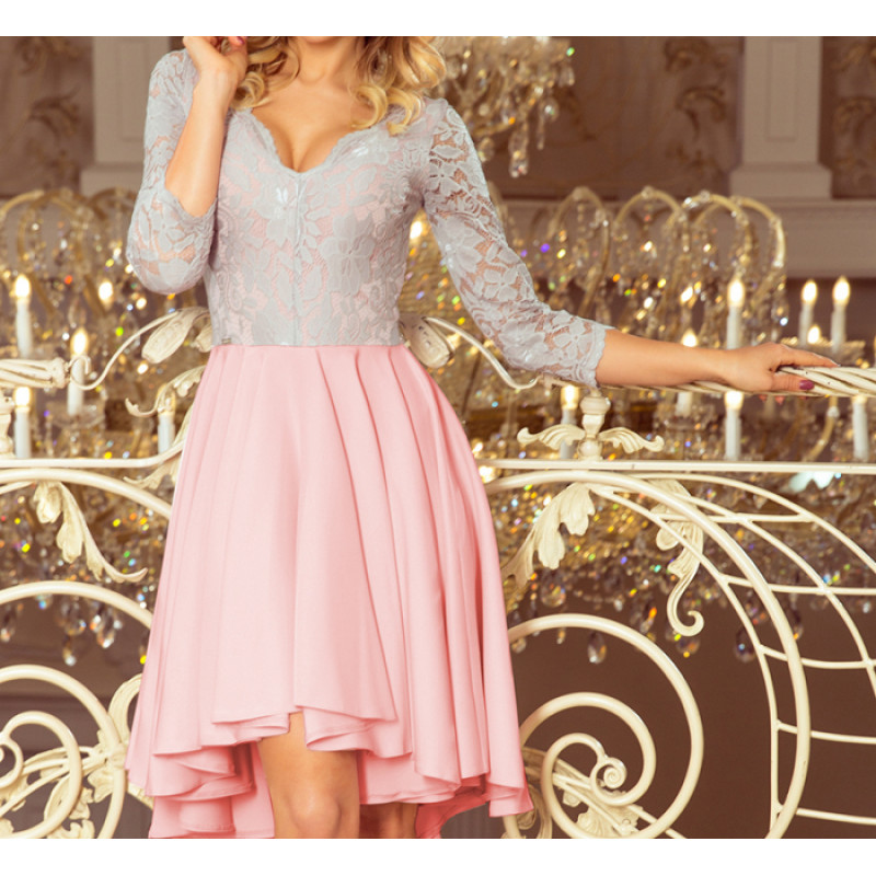 Dámske elegantné šaty ružová