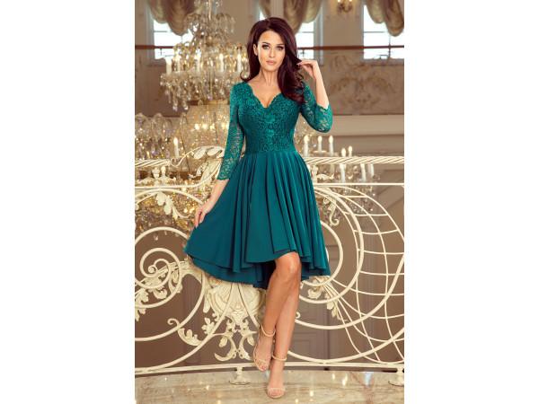 Dámske elegantné šaty zelenej farby