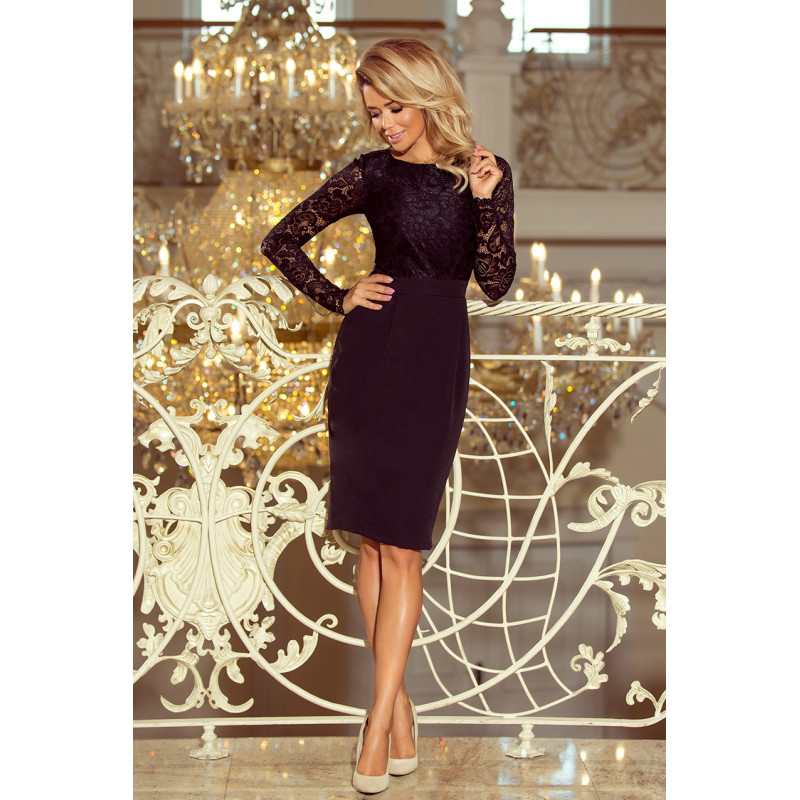 Dámske elegantné šaty bordovo fialová