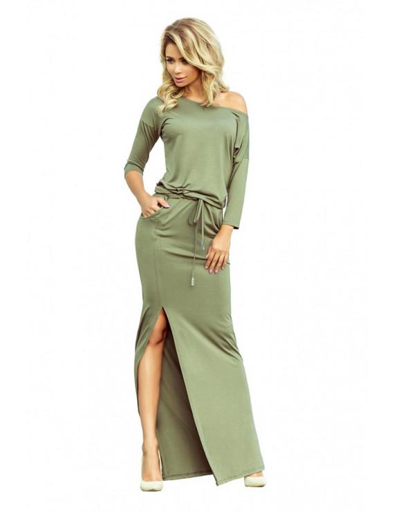 Dámske športové šaty olivové
