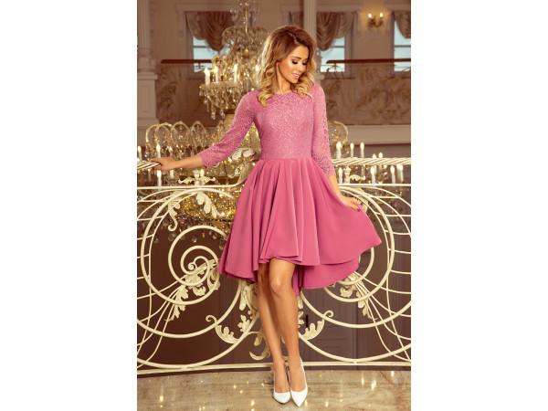 Dámske elegantné šaty svetlo fialové