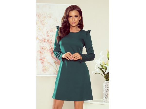 Dámske elegantné šaty zelný smaragd