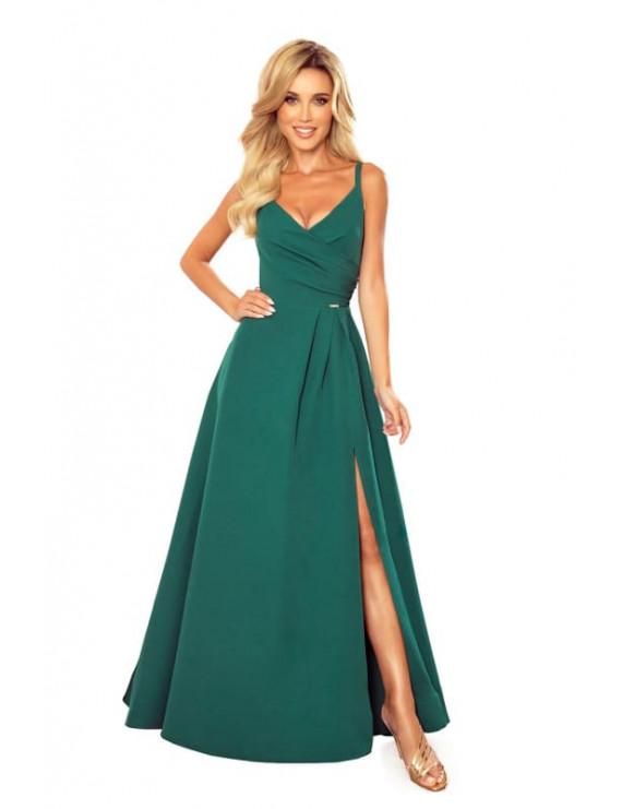 Dámske elegantné šaty Smaragd zelená