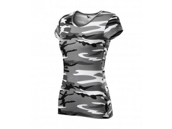 Dámske Tričko Camo Pure sivá