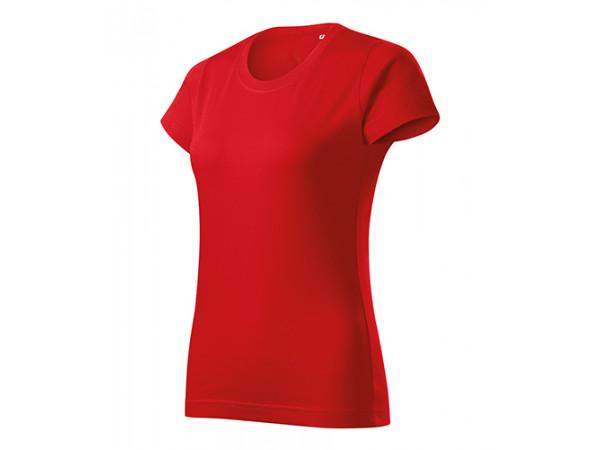 Dámske Tričko Basic Free červená