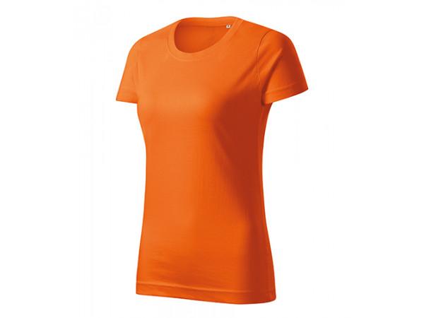 Dámske Tričko Basic Free oranžová
