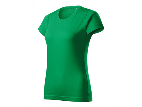 Dámske Tričko Basic Free trávovo zelená
