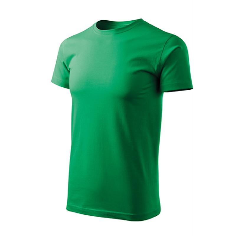 Unisex Tričko EAVY NEW FREE trávovo zelená