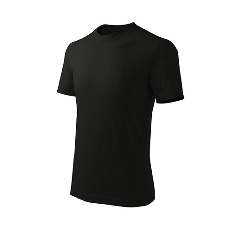 Detské Tričko Basic Free čierna