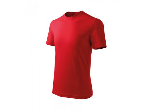 Detské Tričko Basic Free červená