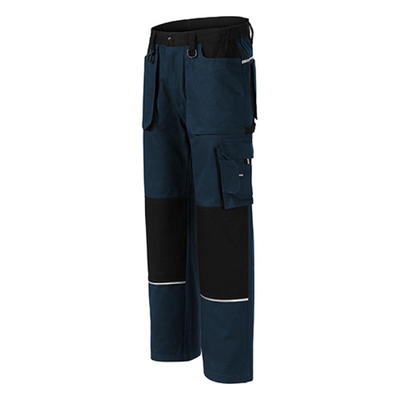 Pánske pracovné nohavice WOODY tmavomodrá